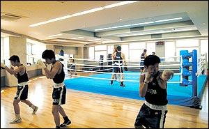 ボクシングジム