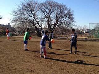 中学サッカー部