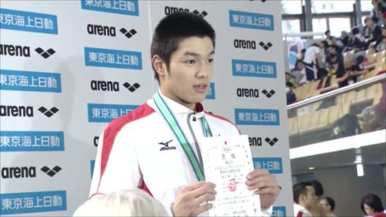 水泳部ジュニアオリンピック