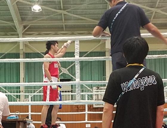 ボクシング部国体1
