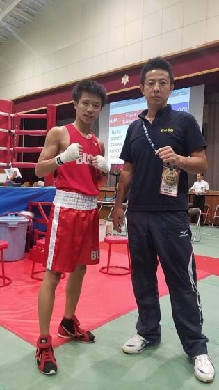 ボクシング部国体2